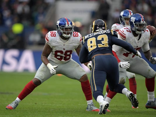 NFL: International Series: New York Giants at Los Angeles Rams