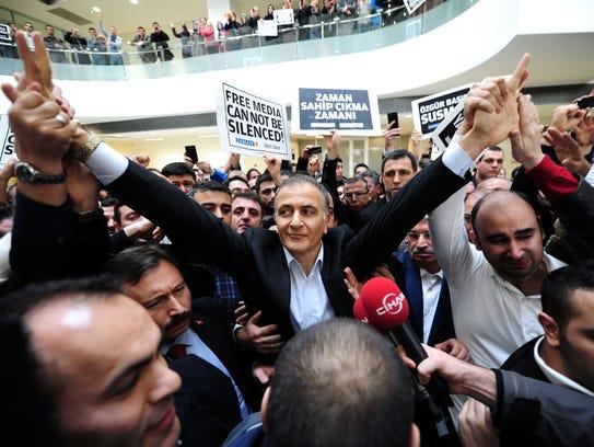 Ekrem Dumanli, editor-in-chief of Today's Zaman newspaper,