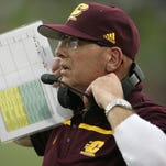 Central Michigan coach John Bonamego is now cancer-free, and his team is preparing for a bowl against Minnesota.