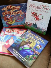 Kids holiday books by various authors and illustrators.