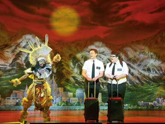 """Called """"the best musical of the century,"""" """"The Book of Mormon"""" will lead this season's Broadway in El Paso's stellar lineup. The musical will take the Plaza Theatre stage Nov. 10-15."""