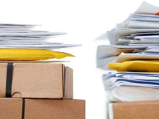 Briefe und Pakete