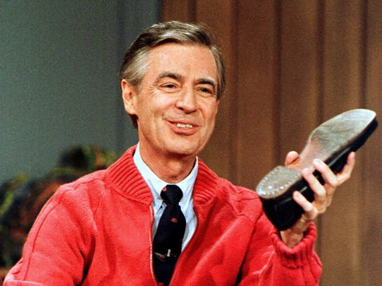 This June 28, 1989, file photo, shows Fred Rogers as
