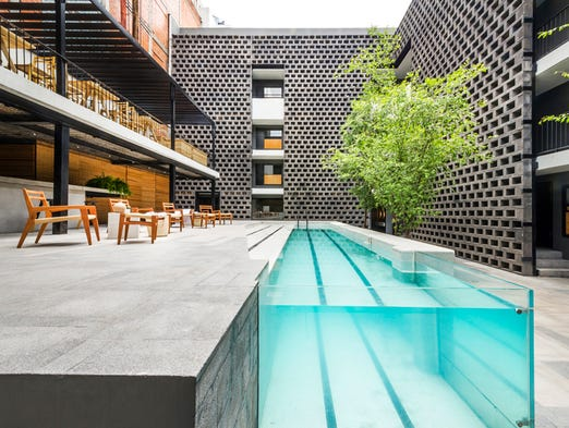 Hotel Carlota, designed by JSa Arquitectura, opened