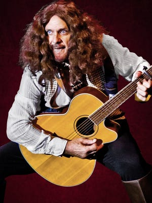 """Gary Weinlein as Ian Anderson of Jethro Tull in """"Groovin': The Summers of Love."""""""