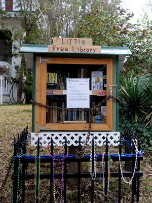 Current zoning laws clash with First Amendment rights over free book exhange with Little Free Libraries.
