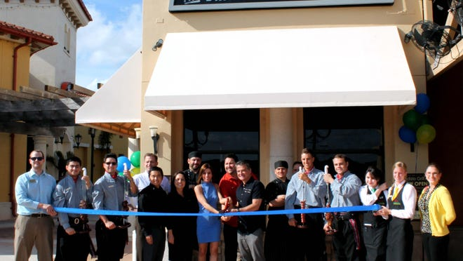 The Bonita Springs Area Chamber of Commerce held a ribbon-cutting for Rodizio Grill to celebrate their grand opening in Estero.
