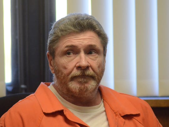 Charles Pickett Jr., of Battle Creek in court on Monday.