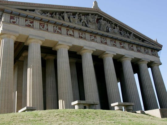 Nashville's Parthenon in Centennial Park.