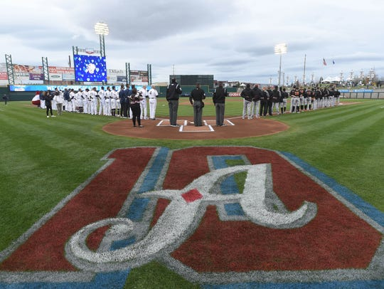 The Reno Aces' opening day at Greater Nevada Field