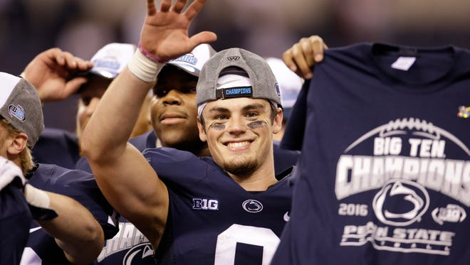 Penn State feeds off the attitude of its resilient quarterback, Trace McSorley. Now, the  toughest test awaits, even if the Rose Bowl wasn't exactly what they wanted.