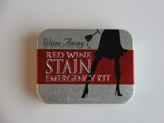 Wine Away's Red Wine Stain Emergency Kit