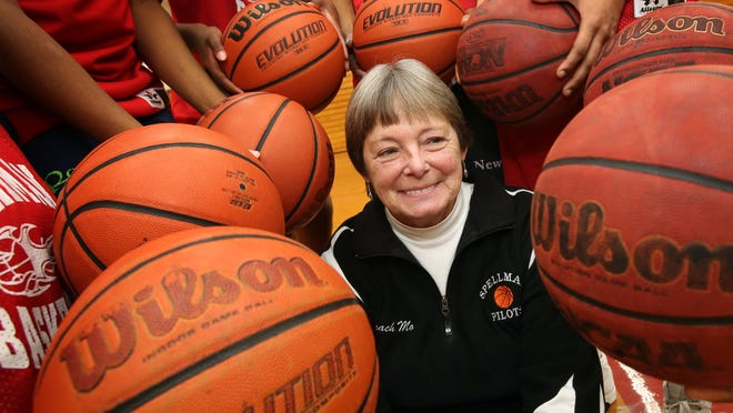 Jane Morris, the girls basketball coach at Cardinal Spellman High School, has won more than 700 games. The Garnerville resident will be inducted into the New York State Basketball Hall of Fame this month.