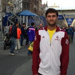 Florida Tech volunteer assistant coach Chris Cacciapaglia finished 295th in the Boston Marathon Monday.