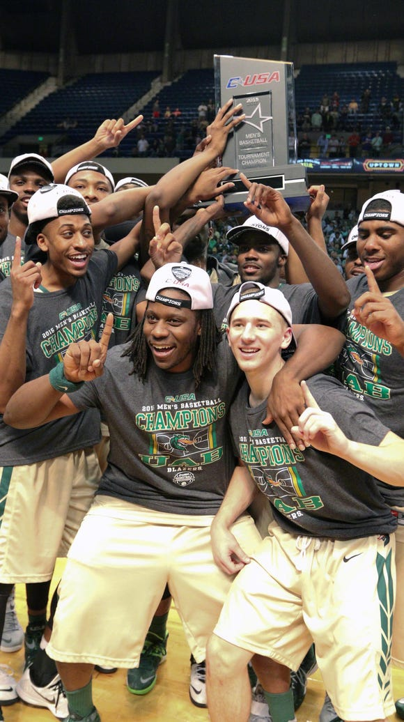 UAB, which won the 2015 Conference USA men's basketball