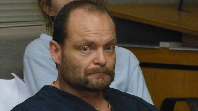 Anthony Baxter, shown in this file photo, is facing life in prison without parole if convicted of murdering an Anderson couple in 2016