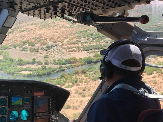 SRP drought on the Salt River