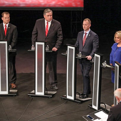 Republican candidates for governor target Planned Parenthood during debate at Clemson