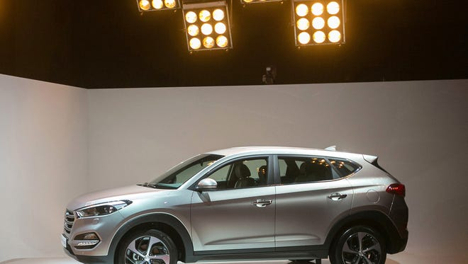 Hyundai Tucson compact crossover unveiled in Berlin, Germany on  Feb. 17