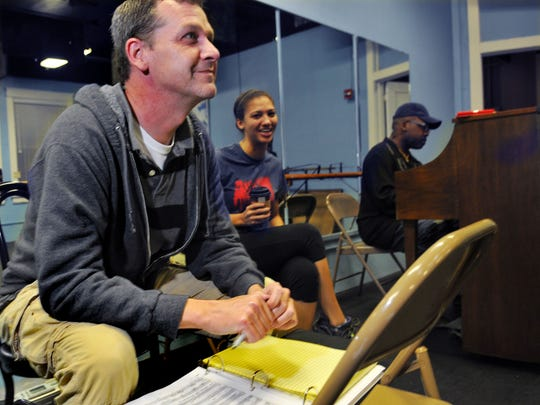 Hank Rion, left, is the artistic director of the Henegar