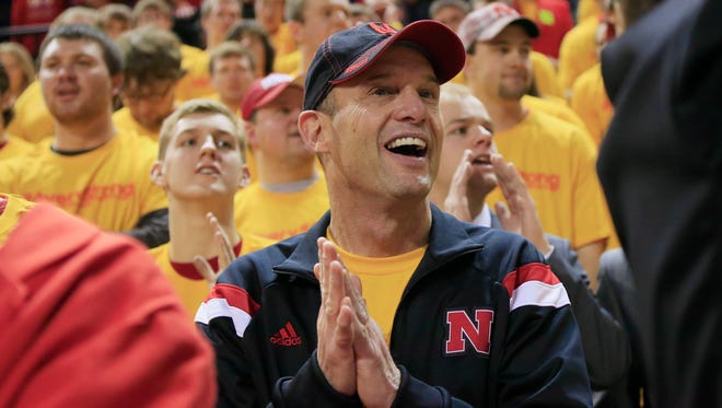 Nebraska coach Mike Riley likes sharing recruiting efforts via social media in order to galvanize Huskers fans and show them the new staff is working hard.