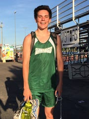 Reuben Nach, from Phoenix Sunnyslope, is azcentral sports' High Achiever of the Week for April 14-21.