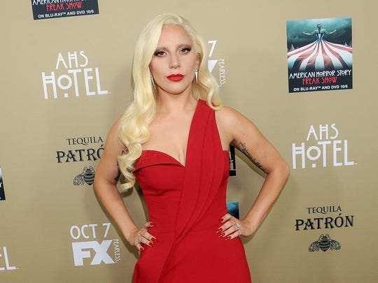 Gaga looking classy at the AHS premiere.