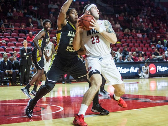 WKU defeats Alabama State 79-66