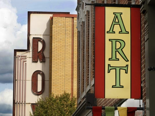 Downtown Clarksville's Art Walk