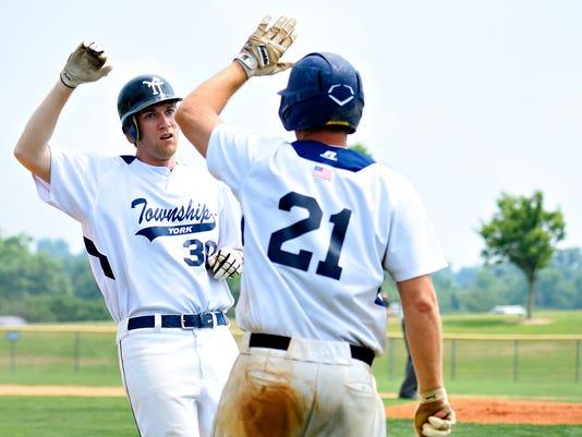 East Prospect vs York Township in Susquehanna League baseball