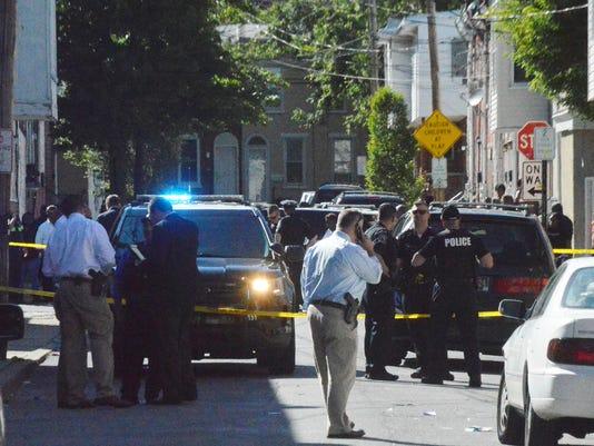 Shearman Street shooting