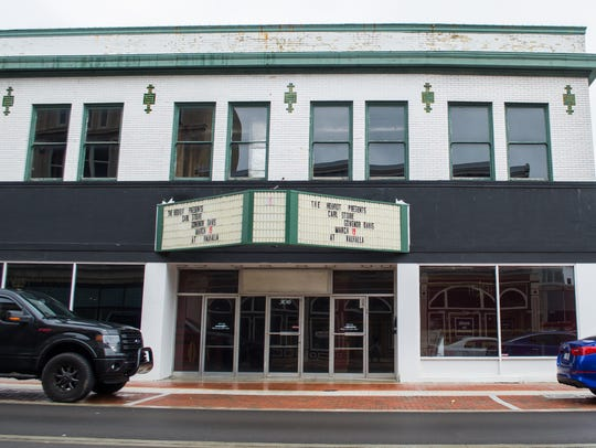 A former performance hall at 306 S. Walnut St., seen