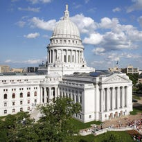 State Capitol in Madison, Wisconsin