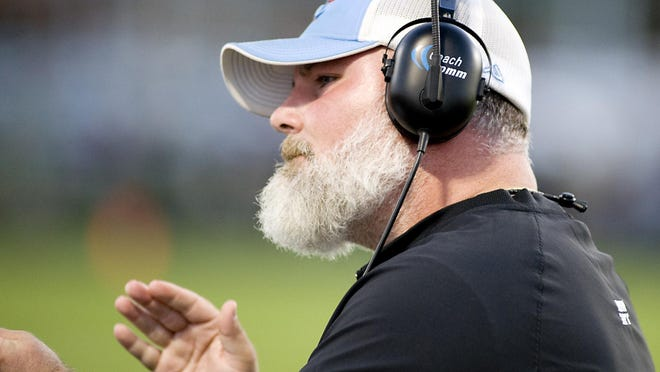 Seth Whiting resigned his position as head football coach at Alliance in April 27 for a similar job at Minster High School.