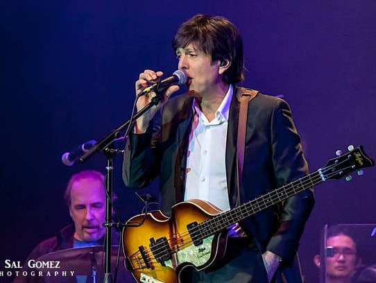 "Tony Kishman performs as Paul McCartney at ""Live and"