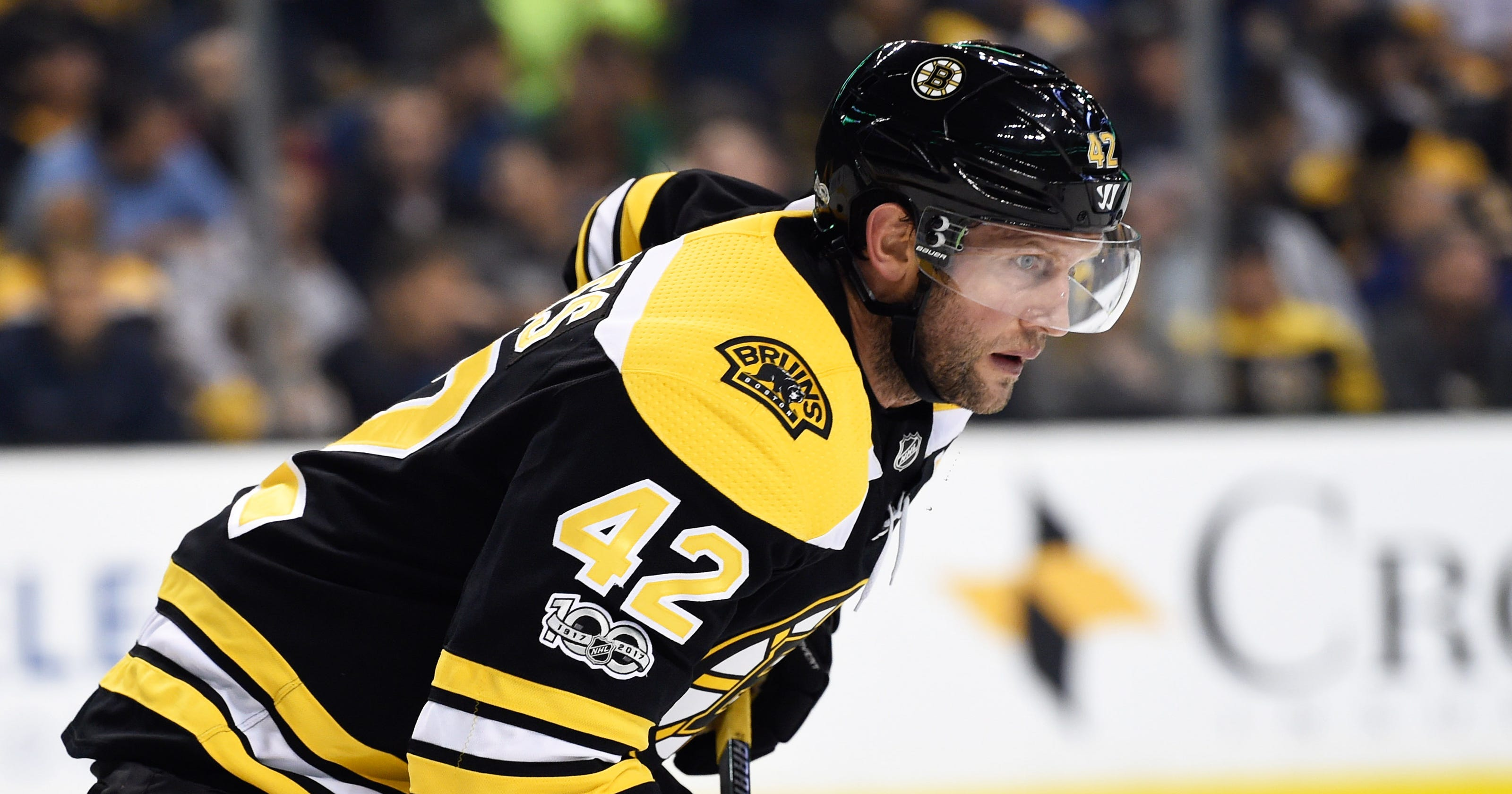 Boston Bruins  David Backes has surgery and is placed on injured reserve e3345bffe