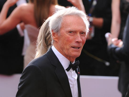 FILE - In this Feb. 22, 2015, file photo, Clint Eastwood