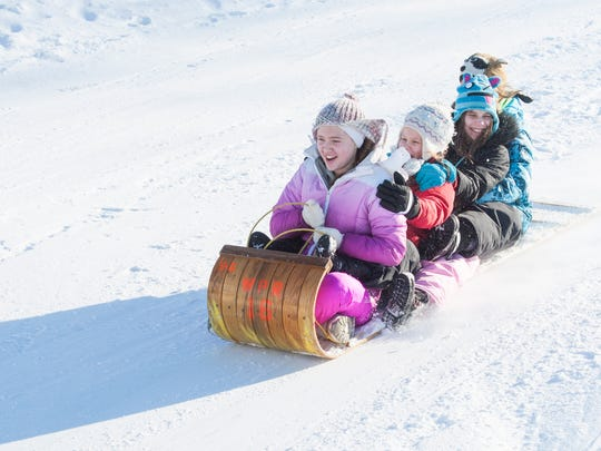 Family fun at the Lowell Park Toboggan Run will be part of the 33rd Annual Waukesha Janboree Jan. 26 through 28.
