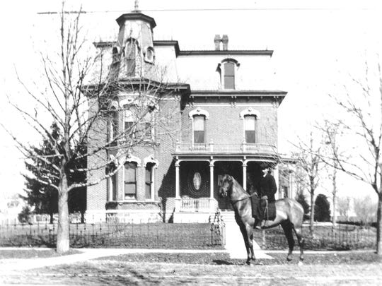 The historic Ford-Peabody Mansion, at the southeast