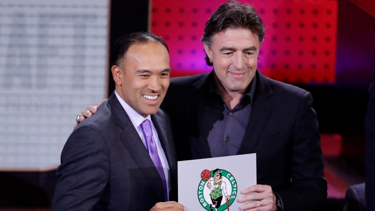 Celtics win NBA draft lottery
