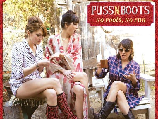 "Puss n Boots released its debut album, ""No Fools, No"