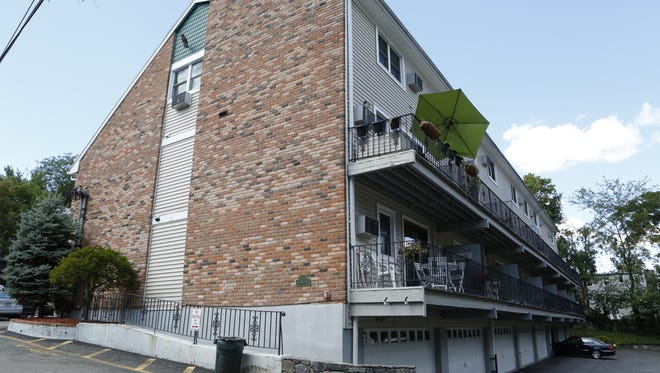 The exterior of Building B, at 38-1/2 Wolden Road, Ossining, where Ryan Ennis was discovered slain.