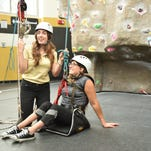 Photos: Knights reach heights with climbing program