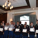 Photos: 7 JROTC cadets honored in Naples for academics, leadership