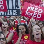 Roberts: #RedforEd teachers' strike is a socialist plot?  Oh, come on...