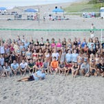 Beach volleyball attracts 42 teams