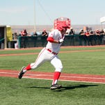 Former Rocky Mountain baseball star Carl Stajduhar has started 21 of 22 games as a freshman at New Mexico and his hitting .277 with a home run and is second on the team with 16 RBI.