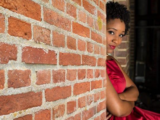 "Soprano Meroë Khalia Adeeb stars as Clara in the Glimmerglass Festival production of ""Porgy and Bess."""