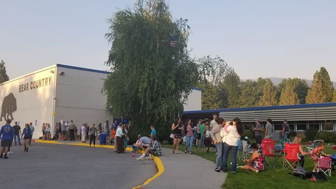 Mount Shasta High School hosted a back to school barbecue in September of 2018. This year, MSHS and other schools in the Siskiyou Union High School District, will begin their years with distance learning due to the COVID-19 pandemic.
