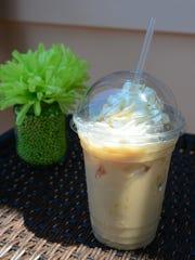 Java House's Caramel Ice Coffee. Thursday, July 11,